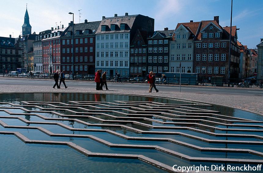 Daenemark, am Gammel Strand in Kopenhagen