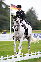 NZL-Caroline Powell rides Sinatra Frank Baby during the CCI3* Second Day of Dressage at the 2016 Blenheim Palace International Horse Trial. Friday 9 September. Copyright Photo: Libby Law Photography