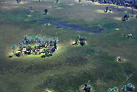 BOTSWANA  Delta del fiume Okawango, vista dall'alto BOTSWANA delta de la rivière Okawango, vue de dessus River Delta Okawango, top view