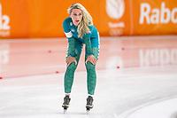26th December 2020; Thialf Ice Stadium, Heerenveen, Netherlands;  World Championships Qualification Tournament WKKT. 1500m ladies, Irene Schouten during the WKKT