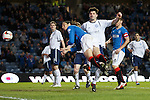 Bilel Mohsni heads in the second goal