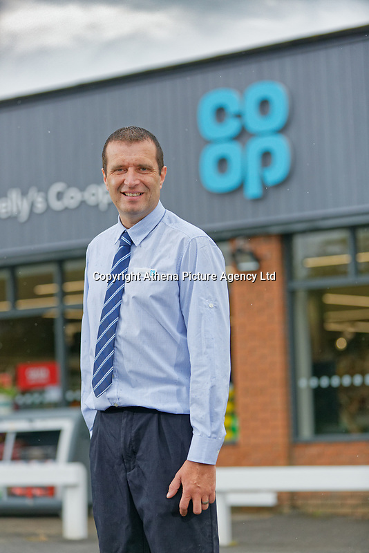 Store manager Anthony Thorne