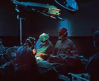 Greenville Memorial Hospital, Greenville, TN. Surgeon operating