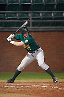 Siena Saints right fielder Fred Smart (32) at bat during a game against the Stetson Hatters on February 23, 2016 at Melching Field at Conrad Park in DeLand, Florida.  Stetson defeated Siena 5-3.  (Mike Janes/Four Seam Images)