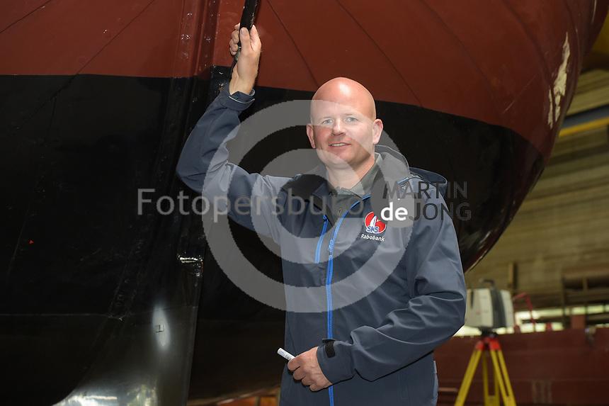 ZEILSPORT: IJLST: Meting SKS Skûtsjes, Jeroen Veenema, ©foto Martin de Jong