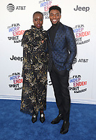03 March 2018 - Santa Monica, California - Chadwick Boseman, Danai Gurira. 33rd Annual Film Independent Spirit Awards held at the Santa Monica Pier. Photo Credit: F. Sadou/AdMedia