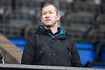 St Johnstone v Celtic…03.02.19…   McDiarmid Park    SPFL<br />Former saint Frazer Wright at McDiarmid Park today<br />Picture by Graeme Hart. <br />Copyright Perthshire Picture Agency<br />Tel: 01738 623350  Mobile: 07990 594431