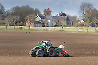 7-5--2021Drilling maize in Cambridgeshire <br /> ©Tim Scrivener Photographer 07850 303986<br />      ....Covering Agriculture In The UK....