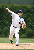 Sean Gallagher of the Chicago Cubs vs. the San Diego Padres: June 18th, 2007 at Wrigley Field in Chicago, IL.  Photo copyright Mike Janes Photography 2007.