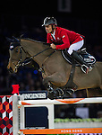 Pius Schwizer on PSG Future competes during the Airbus Trophy at the Longines Masters of Hong Kong on 20 February 2016 at the Asia World Expo in Hong Kong, China. Photo by Juan Manuel Serrano / Power Sport Images