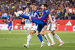 Deportivo Alaves's defender Alexis Ruano and FC Barcelona's forward Leo Messi during Copa del Rey (King's Cup) Final between Deportivo Alaves and FC Barcelona at Vicente Calderon Stadium in Madrid, May 27, 2017. Spain.<br /> (ALTERPHOTOS/BorjaB.Hojas)