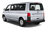 Car pictures of rear three quarter view of 2020 Volkswagen Transporter - 4 Door Passenger Van Angular Rear