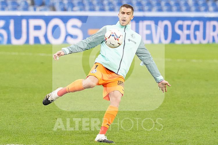 Getafe CF's Ruben Yanez during La Liga match. October 3, 2020. (ALTERPHOTOS/Acero)
