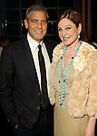 George Clooney and Becca Cason Thrash at a dinner and recption for Clooney  at Thrash's home Thursday May 3,2012. (Dave Rossman Photo)