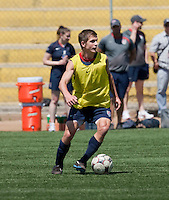 Tyler Polak training before the 2009 CONCACAF Under-17 Championship From April 21-May 2 in Tijuana, Mexico