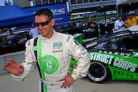 17-19  July, 2009, Birmingham, Alabama USA.#67 TRG Porsche GT3: Andy Lally.©2009 F.Peirce Williams, USA.