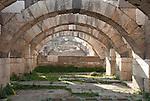 The Agora in Izmir city center, Turkey