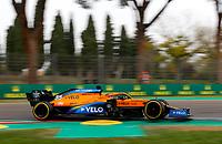 1st November 2020, Imola, Italy; FIA Formula 1 Grand Prix Emilia Romagna, Race Day;  55 CarlSainz ESP, McLaren F1 Team