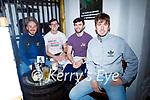 Enjoying the evening in Sean Og's on Thursday, l to r: Michael Lynch, James Duggan, John O'Halloran and Rob Prenderville.