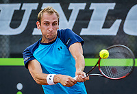 Rotterdam, Netherlands, August 22, 2017, Rotterdam Open, Thiemo de Bakker (NED)<br /> Photo: Tennisimages/Henk Koster