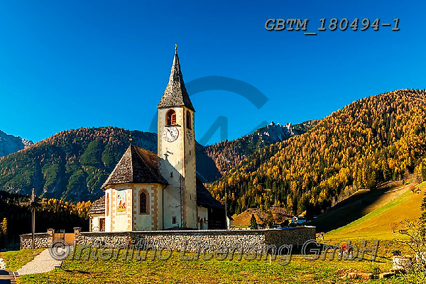 Tom Mackie, LANDSCAPES, LANDSCHAFTEN, PAISAJES, photos,+Dolomites, Dolomiti, Europa, Europe, European, Italian, Italy, South Tyrol, Tom Mackie, Trentino, UNESCO World Heritage Site,+autumn, autumnal, blue, church, churches, fall, horizontally, horizontals, landscape, landscapes, mountain, mountainous, mou+ntains, scenery, scenic, season, yellow,Dolomites, Dolomiti, Europa, Europe, European, Italian, Italy, South Tyrol, Tom Macki+e, Trentino, UNESCO World Heritage Site, autumn, autumnal, blue, church, churches, fall, horizontally, horizontals, landscape+,GBTM180494-1,#l#, EVERYDAY