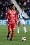 Real Madrid's Carlos Henrique Casemiro during La Liga match between CD Leganes and Real Madrid at Butarque Stadium in Leganes, Spain. April 15, 2019. (ALTERPHOTOS/A. Perez Meca)