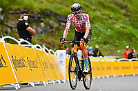 15th July 2021; Luz Ardiden, Hautes-Pyrénées department, France;  POELS Wouter (NED) of BAHRAIN VICTORIOUS during stage 18 of the 108th edition of the 2021 Tour de France cycling race, a stage of 129,7 kms between Pau and Luz Ardiden.