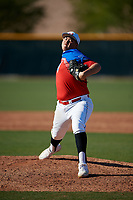 Noah Castillo during the Under Armour All-America Tournament powered by Baseball Factory on January 18, 2020 at Sloan Park in Mesa, Arizona.  (Mike Janes/Four Seam Images)
