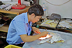 Man Working In Handicraft Factory