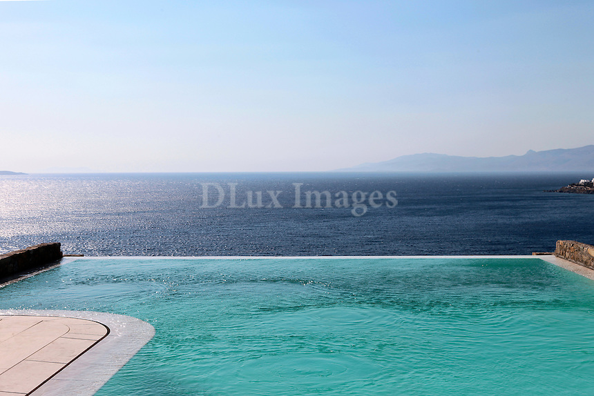 spectacular view of the Aegean Sea