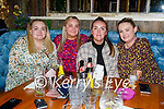 Enjoying the evening in Benners Hotel on Saturday, l to r:  Natasha, Sinead, Hollie and Chloe Lynch
