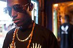 23-year-old Kenyan hip-hop artist Octopizzo in Kibera.