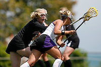 20 June 2006: Kinsey Morrison during Stanford's 17-9 loss to Northwestern in the first round of the 2006 NCAA Lacrosse Championships in Evanston, IL. Stanford made it to the NCAA's for the first time in school history.