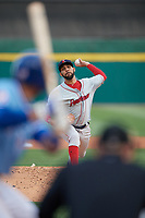 Pawtucket Red Sox starting pitcher David Price (17) during a game against the Buffalo Bisons on May 19, 2017 at Coca-Cola Field in Buffalo, New York.  Buffalo defeated Pawtucket 7-5 in thirteen innings.  (Mike Janes/Four Seam Images)