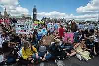 School climate strike. 21-6-19