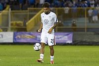 SAN SALVADOR, EL SALVADOR - SEPTEMBER 2: Konrad de la Fuente #20 of the United States during a game between El Salvador and USMNT at Estadio Cuscatlán on September 2, 2021 in San Salvador, El Salvador.
