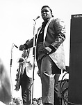 Solomon Burke 1965 at Uxbridge Blues Festival..