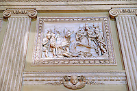 """The Room of the Bodyguards"" - Bas-reliefs made between 1786 and 1789 depicting scenes from the second Punic War. The  Kings of Naples Royal Palace of Caserta, Italy. A UNESCO World Heritage Site"