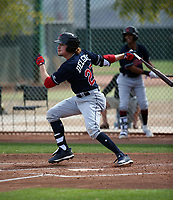 Raynel Delgado - Cleveland Indians 2019 spring training (Bill Mitchell)