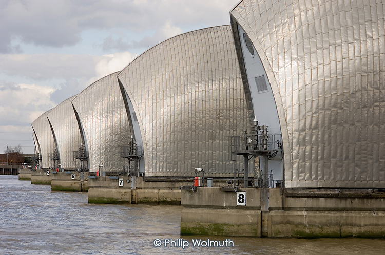 The Thames Barrier, Greenwich, London