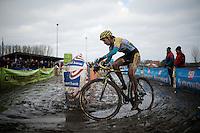 Nikki Harris (GBR/Telenet-Fidea)<br /> <br /> Azencross Loenhout 2014