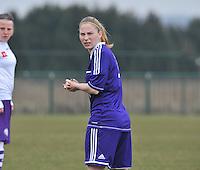 RSC Anderlecht Dames - Beerschot : Jana Coryn.foto DAVID CATRY / Vrouwenteam.be