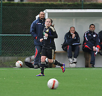 Dames Zulte - Waregem - RSC Anderlecht : Taika De Koker.foto DAVID CATRY / VROUWENTEAM.BE