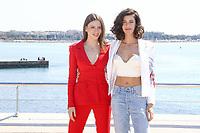 Seranay Sarikaya et Berrak Tuzunatac lors du photocall de PHI pendant le MIPTV a Cannes, le lundi 3 avril 2017.