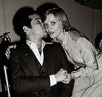 Arnaz Jr. Henderson6855.JPG<br /> New York, NY 1978 FILE PHOTO<br /> Desi Arnaz Jr., Florence  Henderson<br /> Studio 54<br /> Digital photo by Adam Scull-PHOTOlink.net<br /> ONE TIME REPRODUCTION RIGHTS ONLY<br /> NO WEBSITE USE WITHOUT AGREEMENT<br /> 718-487-4334-OFFICE  718-374-3733-FAX