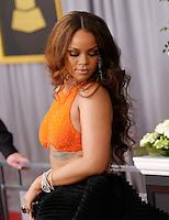 Rihanna @ the 59th Annual GRAMMY Awards held @ the Microsoft Theatre.<br /> February 12, 2017 , Los Angeles, USA. # 59EME GRAMMY AWARDS 2017