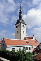 Museum Nikolai-Kirche (Niguliste)  in Tallinn (Reval), Estland, Europa, Unesco-Weltkulturerbe