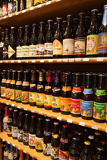 Belgium, West-Flanders, Bruges: Belgian Beers