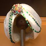 Headdress, Veeraswamy Restaurant, London, city, England, UK, United Kingdom, Great Britain, Europe, European
