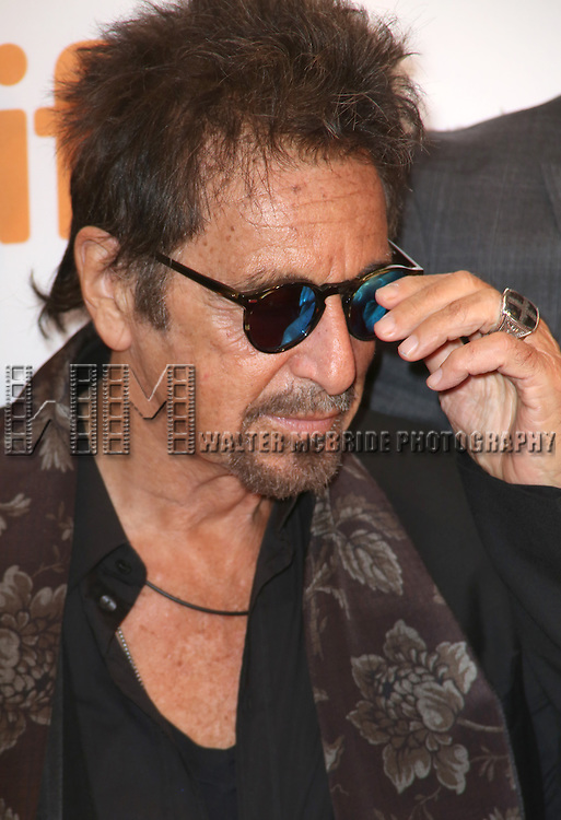 Al Pacino attends TIFF's 3rd Annual Gala Event 'In Conversation With Al Pacino' at the Tiff Lightbox on September 3, 2014 in Toronto, Ontario, Canada